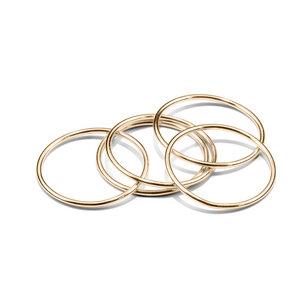 Ring WIRE, Gold 585, 14 Karat, Ringgröße 50 - 56, Handmade in Germany - Jonathan Radetz Jewellery
