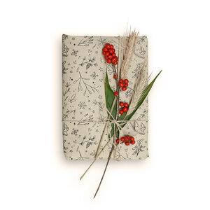 Geschenkpapier aus Graspapier: Winterliches - 10 Blatt - Matabooks