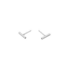 Ohrstecker fineSQUARE, Silber 925, Sterlingsilber, Länge 10 - 40 mm, Handmade in Germany - Jonathan Radetz Jewellery