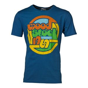 Woodstock Original License Tee dark blue - KnowledgeCotton Apparel