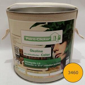 Paint-Clicker Ökoline Innensilikatfarbe Farbton (3460) - Paint-Clicker Ökoline