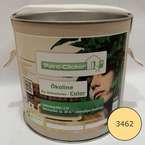 Paint-Clicker Ökoline Innensilikatfarbe Farbton (3462) - Paint-Clicker Ökoline