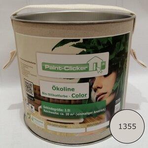Paint-Clicker Ökoline Innensilikatfarbe Farbton (1355) - Paint-Clicker Ökoline