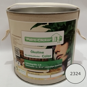 Paint-Clicker Ökoline Innensilikatfarbe Farbton (2324) - Paint-Clicker Ökoline