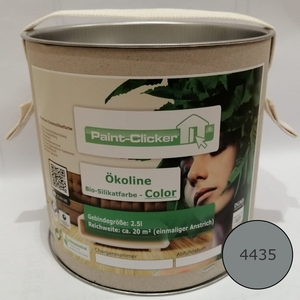 Paint-Clicker Ökoline Innensilikatfarbe Farbton (4435) - Paint-Clicker Ökoline