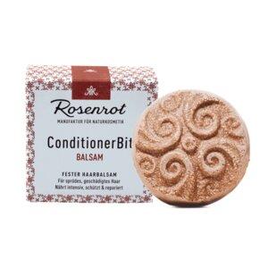 fester Haarbalsam - 60g - Rosenrot Naturkosmetik