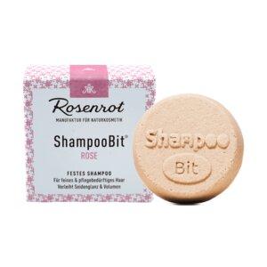 festes Shampoo Rose - 55g - Rosenrot Naturkosmetik