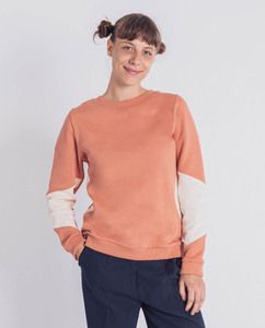 Damen Pullover mit Inlay aus Bio-Baumwolle - Triangle - Degree Clothing