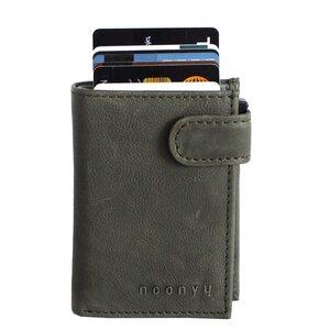 Kreditkarten Börse (mit RFID Schutz) aus upcycling Leder  - noonyu