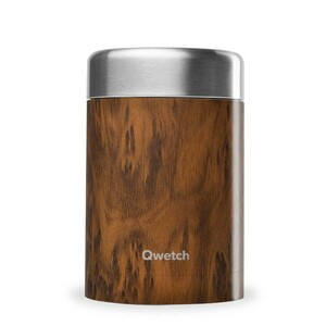 Food Container Wood - 650 ml - Qwetch