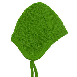 Uni Baby Mütze mit Bändchen - Reiff