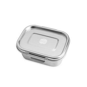 """Auslaufsichere Lunchbox """"BUDDY"""" aus Edelstahl, 550 ml - Brotzeit"""