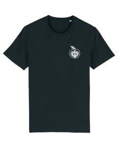 """Unisex T-Shirt aus Bio-Baumwolle """"Liebesapfel""""  - Bretter&Stoff"""