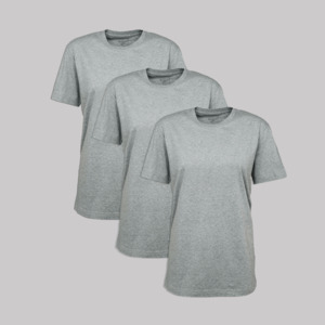 "3er-Pack T-Shirt ""Heshima"", 100% Bio-Baumwolle - ethicted"
