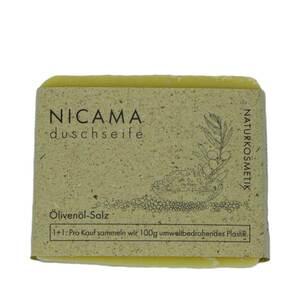 Duschseife Olivenöl-Salz - NICAMA