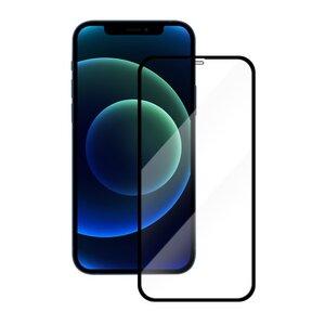 Panzerglas Premium transparenter Schutz für das iPhone mit schwarzem oder weißem Rand  - Woodcessories