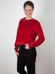Nicki Pullover Runa aus Bio-Baumwolle - emmy pantun