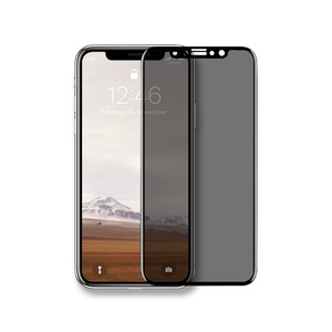 iPhone Panzerglas Premium Privacy Glas transparenter Schutz - Woodcessories