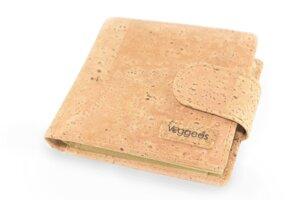 Vegane Geldbörse aus Naturkork mit RFID-Blocker für Damen und Herren - Veggees