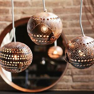 Kokosnusslampe hängend - home on earth