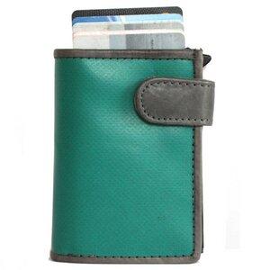 Kreditkarten Börse (mit RFID Schutz) aus Upcycling Werbeplane - noonyu