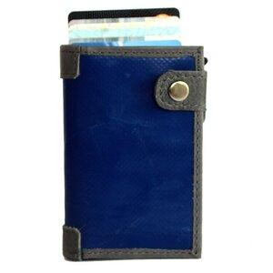 Kreditkarten Börse SLIM (mit RFID Schutz) aus Upcycling Werbeplane - noonyu