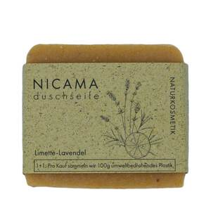 Duschseife Lavendel-Limette - NICAMA
