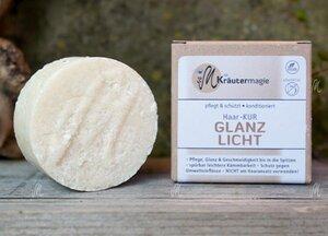 Haarkur-Taler Glanzlicht (helles Haar) 75 g - Die Kräutermagie