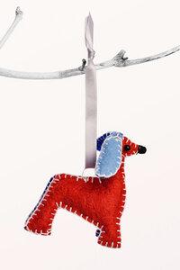 Weihnachtsdeko - Afghan Hound - MADE51