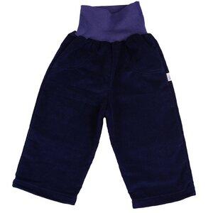 Baby Hose-Cordhose dunkelblau Bio Baumwolle - Popolini
