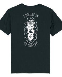 """Unisex T-Shirt aus Bio-Baumwolle """"Universe""""  - Bretter&Stoff"""