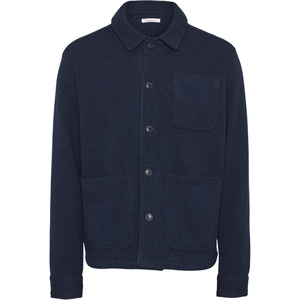 PINE Functional Wool Overshirt - KnowledgeCotton Apparel