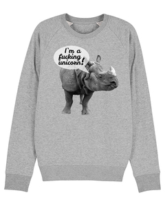 I'm a fucking unicorn | Sweatshirt Unisex | Print - wat? Apparel