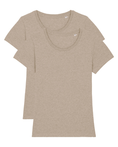 2er Pack Expresser Basic Earth Colors | T-Shirt Damen - wat? Apparel