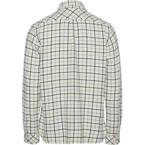 LARCH Casual Fit Big Checked Flannel Karo-Hemd - KnowledgeCotton Apparel