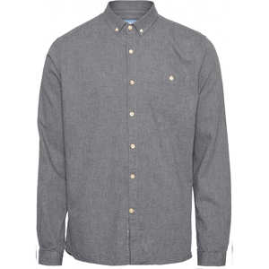 ELDER Regular Fit Melange Flannel Hemd - GOTS/Vegan - KnowledgeCotton Apparel