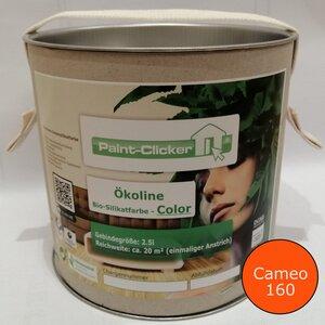 Paint-Clicker Ökoline Innensilikatfarbe Farbton (Cameo 160) - Paint-Clicker Ökoline
