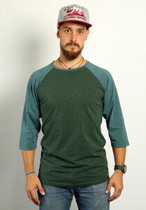 Männer Raglan 3/4 Shirt Waldgeflüster - Die rote Zora
