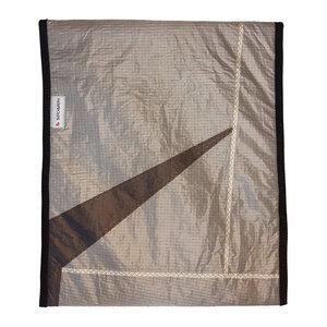 Handgearbeitete Notebook-Tasche / Sleeve aus Segeltuch Kitesegel UNIKAT 16,3 Zoll - Beachbreak