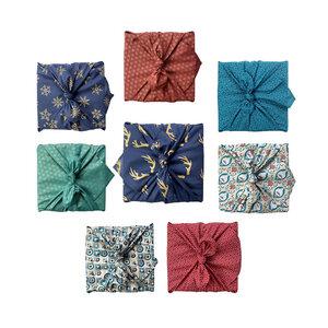 Geschenkverpackung 8er Set Weihnachts-Multipack - FabRap Gift Wrap
