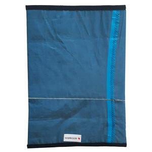 Handgearbeitete Notebook-Tasche / Hülle Segeltuch Canvas Kitesegel UNIKAT bis 16 Zoll - Beachbreak