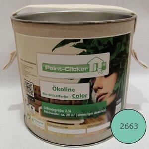 Paint-Clicker Ökoline Innensilikatfarbe Farbton (2663) - Paint-Clicker Ökoline