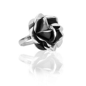 "Ring ""Rosa"" dunkel groß - pakilia"