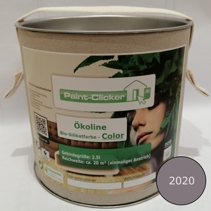 Paint-Clicker Ökoline Innensilikatfarbe Farbton (2020) - Paint-Clicker Ökoline