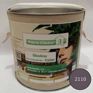 Paint-Clicker Ökoline Innensilikatfarbe Farbton (2110) - Paint-Clicker Ökoline