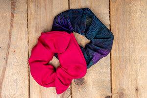 Haargummis Pinky aus recycelter Baumwolle - KOKOworld