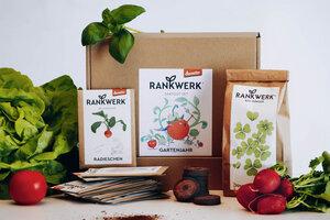 """Bio-Saatgut-Box für das ganze Jahr - Jahresbox """"Gartenjahr"""" - Rankwerk"""