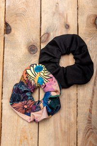 Haargummis Acid Flowers aus recycelter Baumwolle - KOKOworld