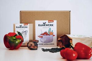 "Bio-Saatgut-Box ""Sonne Andalusiens"" (Demeter-Qualität) - Rankwerk"