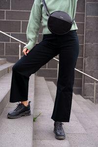 Runde Tasche // Handtasche aus fairem Leder schwarz, braun, beige - frisch Beutel